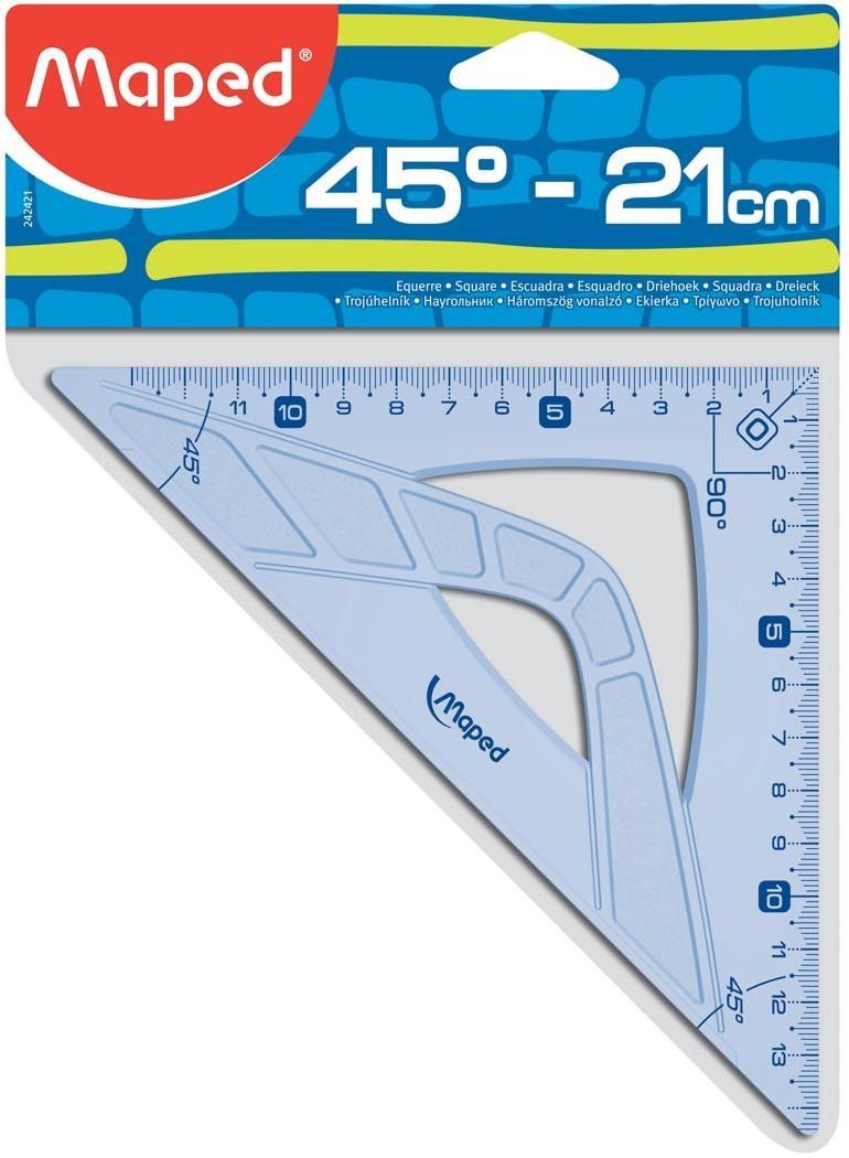 Τρίγωνο Geometric 21 cm 45° - 1