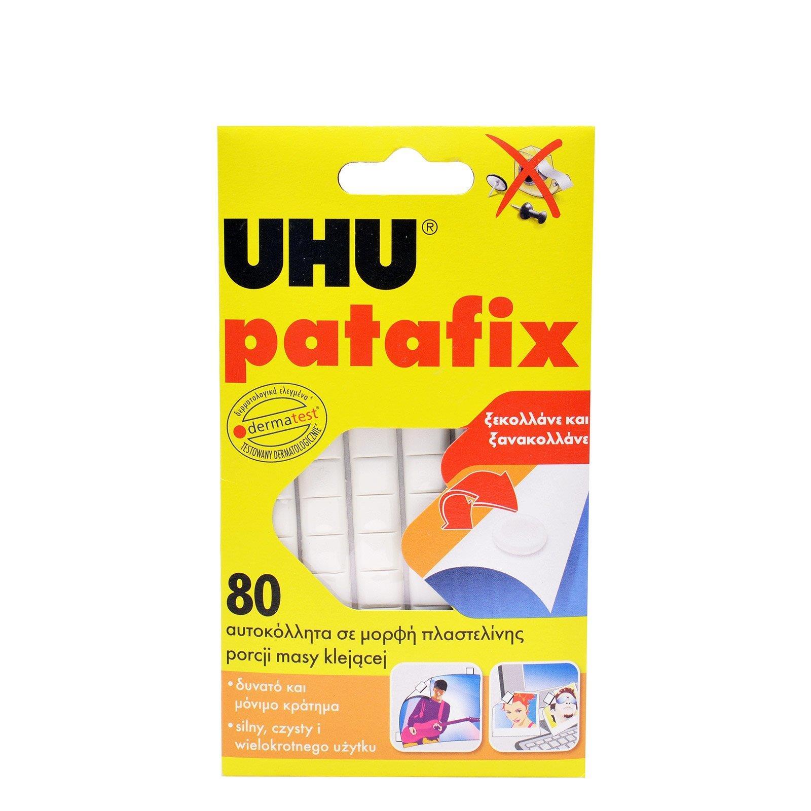 Uhu Patafix λευκή 80 τεμ. - 1