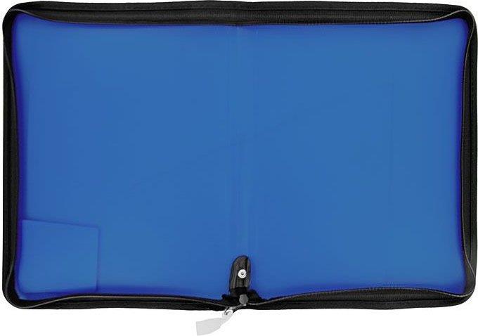 Ντοσιέ διάφανο με φερμουάρ PP Α4 - 1