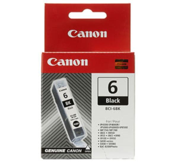 Μελάνι CANON BCI-6 black - 1