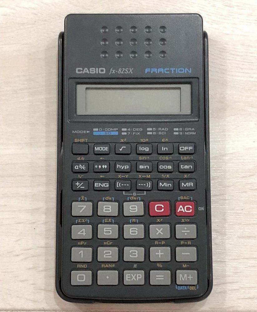 Αριθμομηχανή Casio FX-82SX - 1