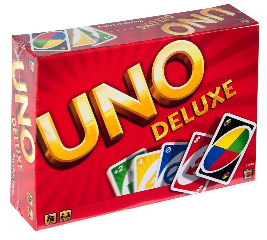 Uno κάρτες  Deluxe - 1