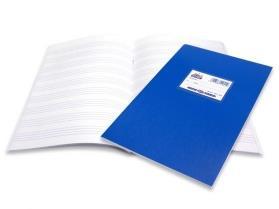 Τετράδιο Unipap Β5 τετραχάρακο 50 φύλλων μπλε - 1