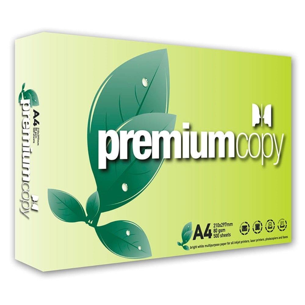 Χαρτί φωτοτυπικού Α4 Premium copy 80gr πακέτο 500 φύλλων - 1
