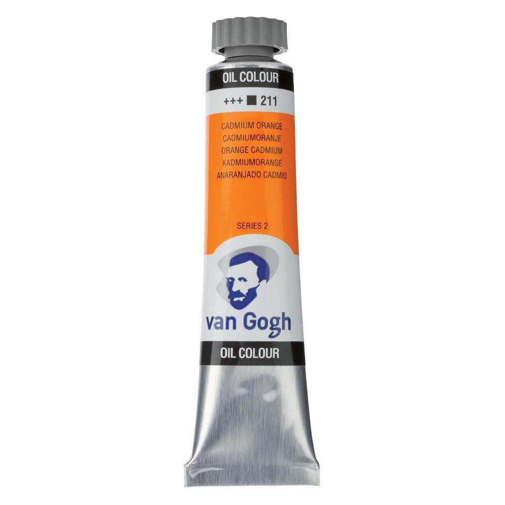 Χρώμα λαδιού Van Gogh 20ml 211 Cadmium Orange - 1