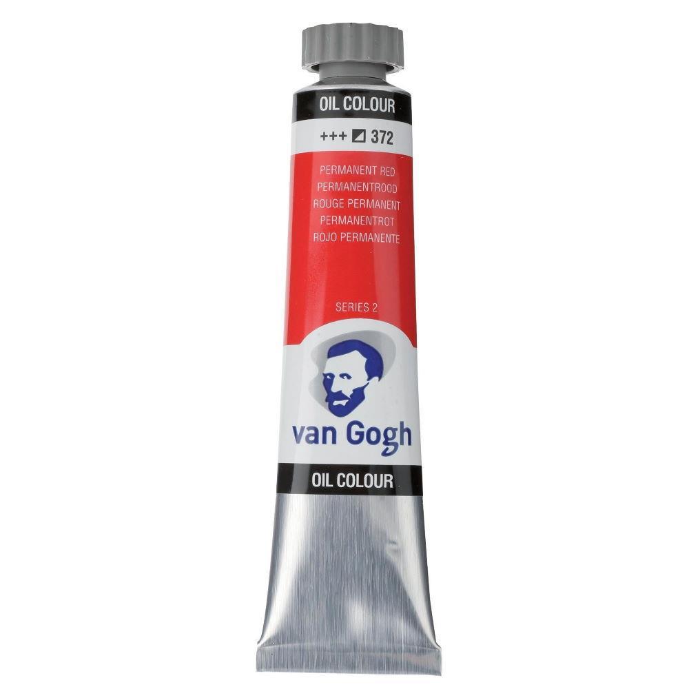Χρώμα λαδιού Van Gogh 20ml 372 Permanent Red - 1