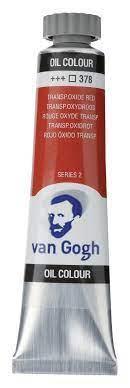 Χρώμα λαδιού Van Gogh 20ml 378 oxide red - 1