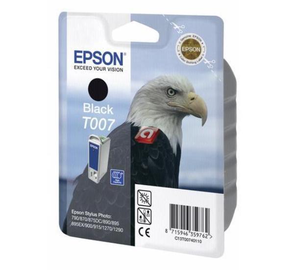 Μελάνι EPSON T007 black - 1