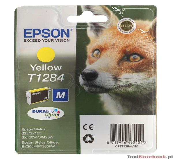 Μελάνι EPSON T1284 yellow - 1