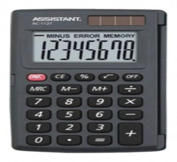 Αριθμομηχανή Assistant AC-1127 - 1
