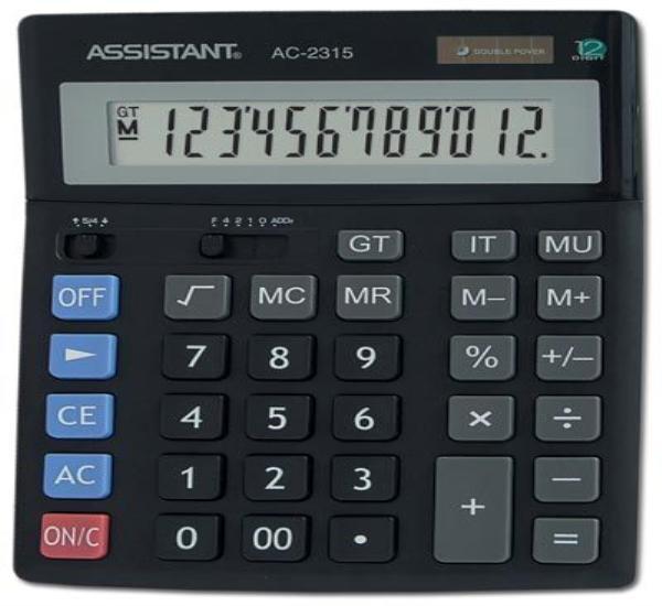 Αριθμομηχανή Assistant AC 2315 - 1