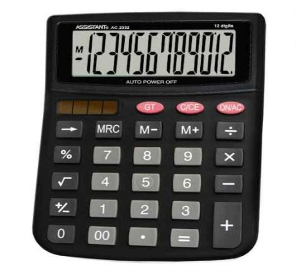Αριθμομηχανή Assistant AC-2332 - 1